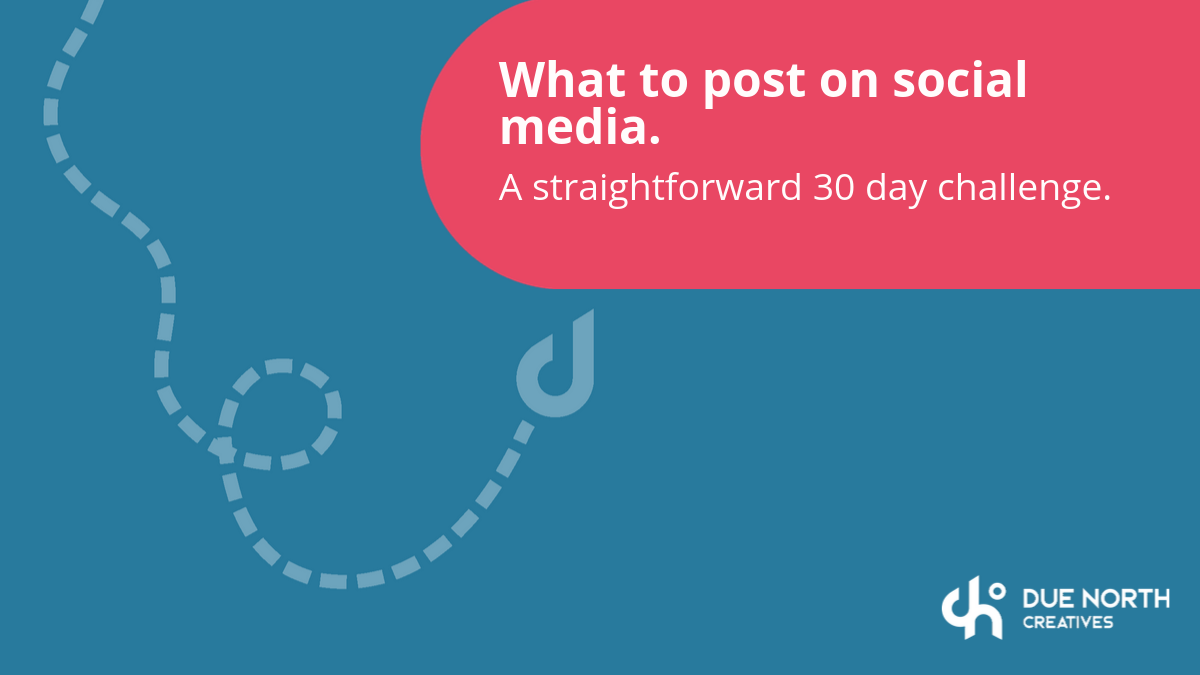social-media-challenge- what-to-post-online